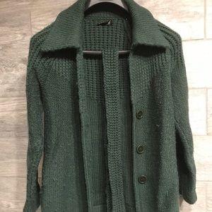 Jackets & Blazers - Vintage knit jacket with belt